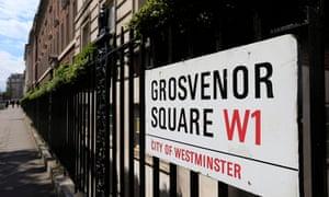 Grosvenor Square in Mayfair
