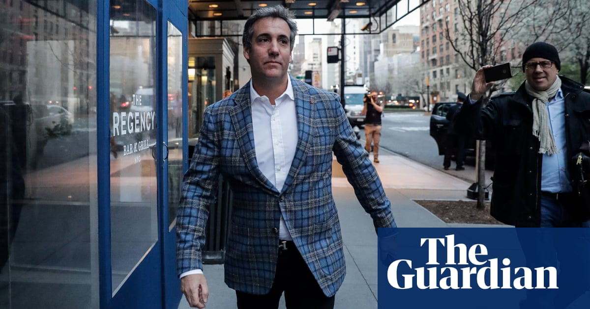 Michael Cohen S Jacket Worthy Of A Shonky Used Car Salesman