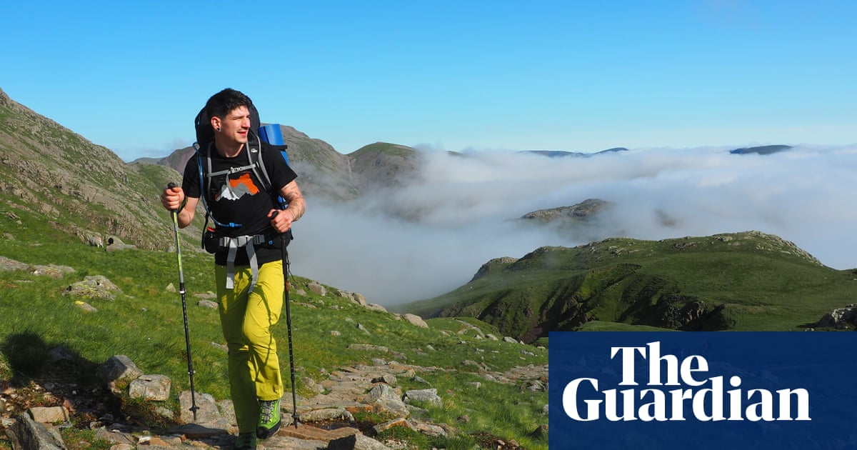 The joy of wild swimming and wild camping in the Lake District