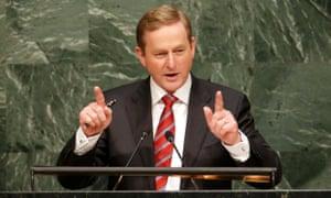 Enda Kenny, prime minister of Ireland