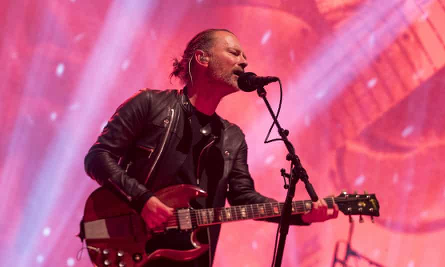 Thom Yorke of Radiohead, one of this year's nominees