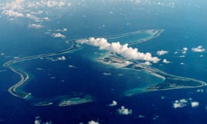 Diego Garcia, the Chagos island which hosts a US military base leased from Britain.