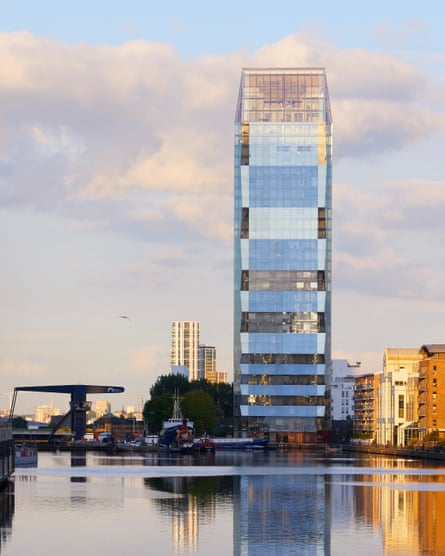 Mount Anvil, builder of Dollar Bay tower in Docklands, is one of Peter Bingle's clients.