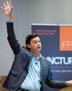 Thomas Piketty at King's College, London, in 2014.