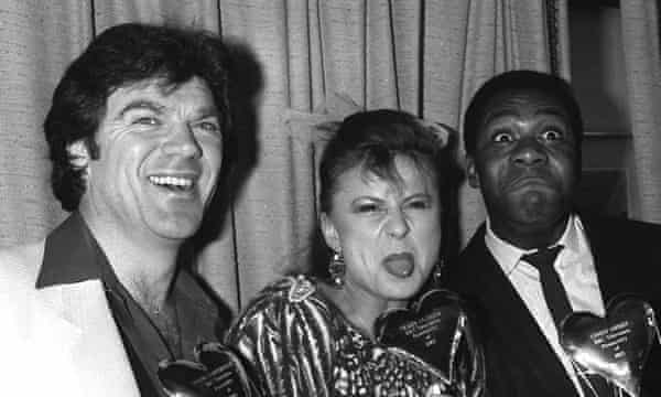 David Copperfield, Tracey Ullman and Lenny Henry.