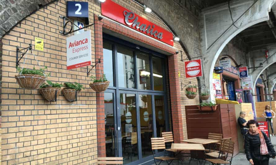 Chatica Restaurant, Elephant Road.