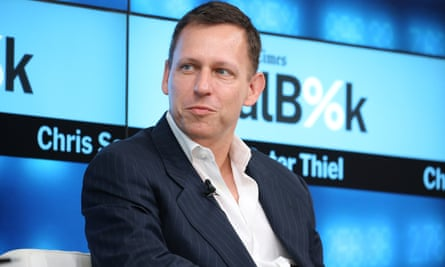 Peter Thiel, the founder of PayPal,