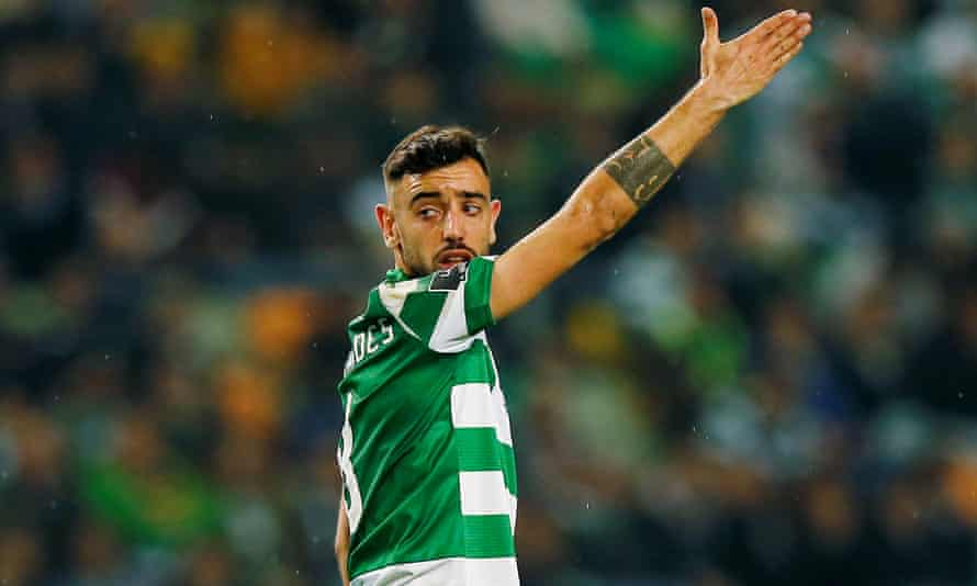 Bruno Fernandes has been valued by Sporting Libson at €85m.