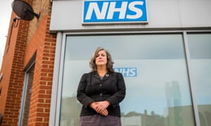 Heidi Alexander at the medical centre in Lewisham, where she is MP. 'I loved learning about a whole new area of policy.'