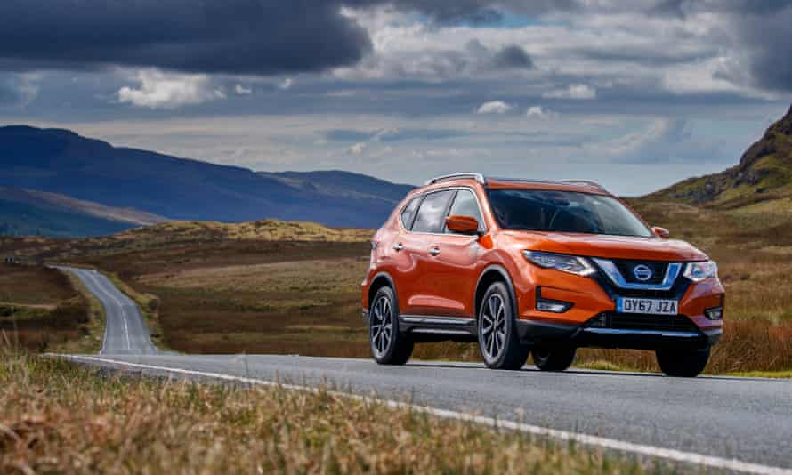 Winding roads: the Nissan X-Trail is as happy on trails as it is on tarmac.