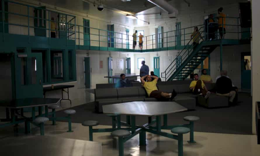 The Hampden County Jail wing looks like a jail, but the people here are patients, not inmates, and have been charged with no crime.