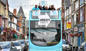 Brexit party activists