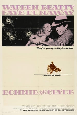 Bonnie and Clyde, 1967.