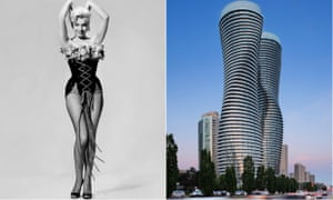The Toronto towers influenced by Marilyn Monroe's 'iconic hourglass figure'.
