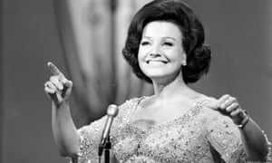 Kay Starr in 1965. She was much admired for her 'zest and savvy blues-coloured phrasing'.