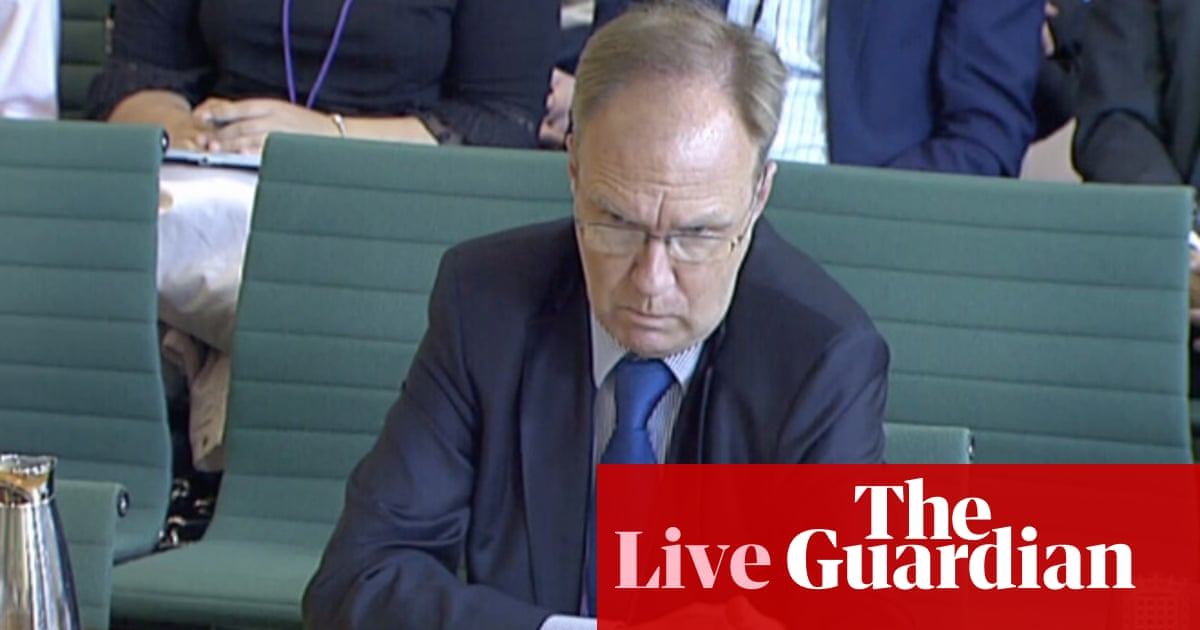 Theresa May was told her three Irish Brexit priorities were incompatible, ex-ambassador tells MPs - live news