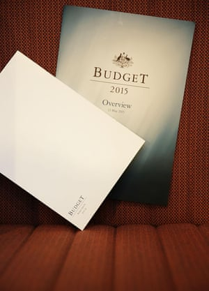 The budget was revealed to members of the media in the lock-up at Parliament House during the afternoon. The details weren't made public until 7.30pm.