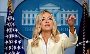 White House Press Secretary Kayleigh McEnany.