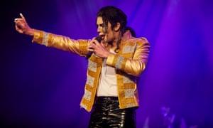 CJ as Michael Jackson