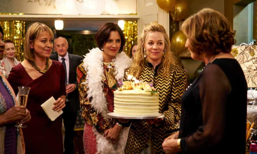 Nicola Walker, Annabel Scholey, Fiona Button and Deborah Findlay in Abi Morgan's The Split.