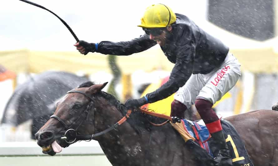 Crystal Ocean's win in the Prince of Wales's Stakes at Royal Ascot made him the highest-rated horse in training.