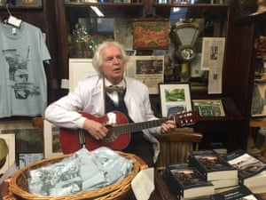 PJ Murphy, who runs Sweny's pharmacy as a Joycean museum trust.