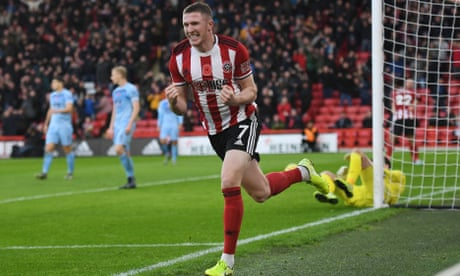 John Lundstram double guides Sheffield United to easy win against Burnley