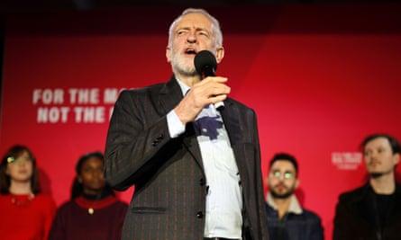 Jeremy Corbyn in Birmingham last week.