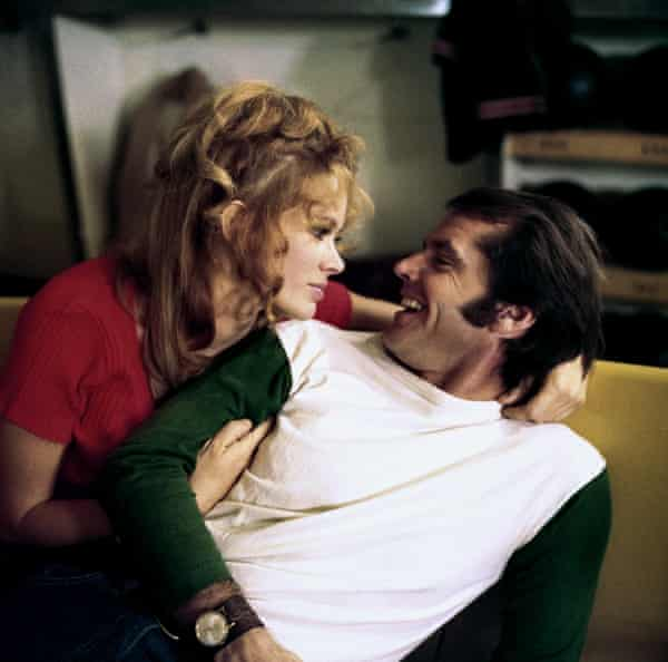With Jack Nicholson in Five Easy Pieces.