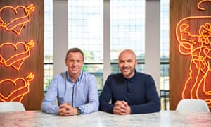 'A wreckage of a show' ... Sunday Brunch's Tim Lovejoy and Simon Rimmer.
