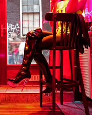 Red light district sex worker