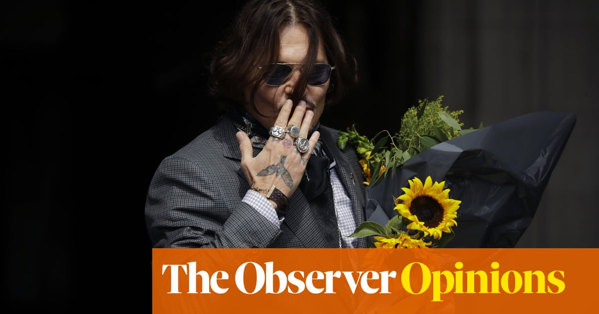 The fight to clear Johnny Depp's name exposes an altogether nastier agenda   Catherine Bennett