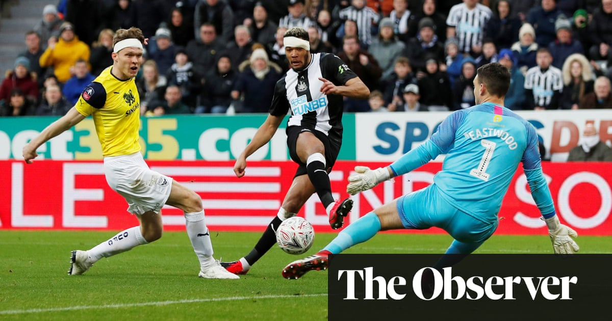 Newcastle schooled by Oxford but Karl Darlow's heroics make it academic