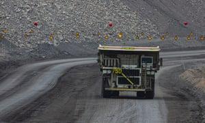 The Mount Thorley Warkworth mine near Muswellbrook