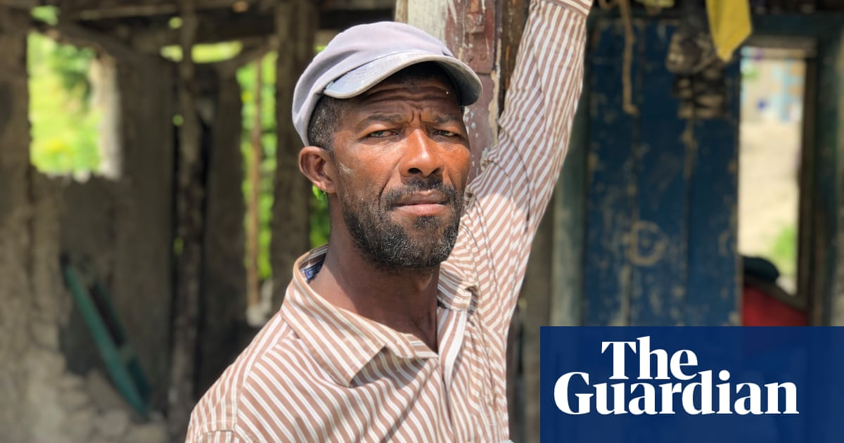 'A forgotten disaster': earthquake-hit Haitians left to fend for themselves