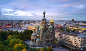 The Church of the Saviour on Spilled Blood, St Petersburg.