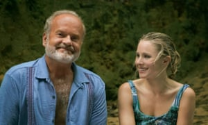 Kelsey Grammer and Kristen Bell in Like Father.