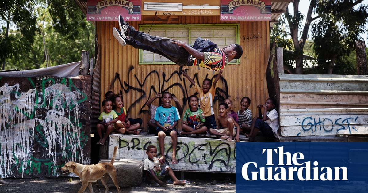 Breakdancer B-boy Fly in a Papua New Guinea stilt village – Josh Cole's best photograph