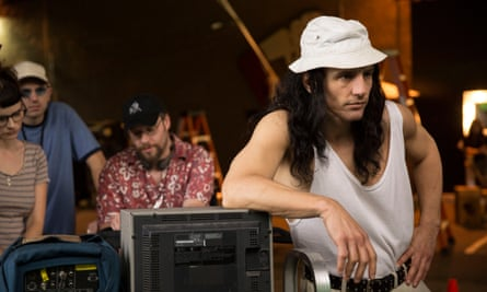 Franco on the set of The Disaster Artist.