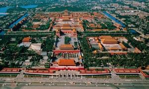 The 180-acre Forbidden City in the heart of Beijing.