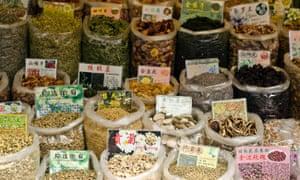Qingping medicine market, Guangzhou.