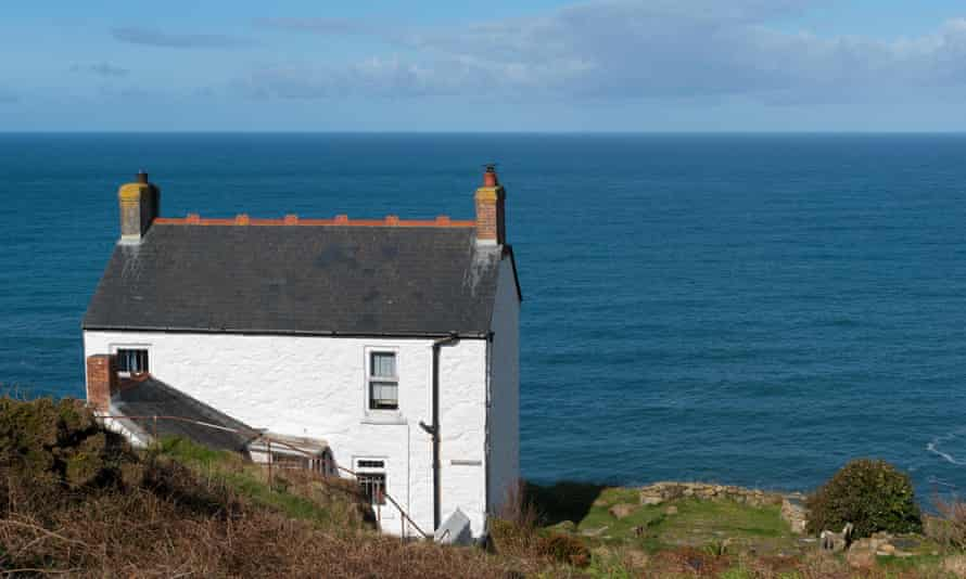 A holiday cottage Cape Cornwall, near Land's End.