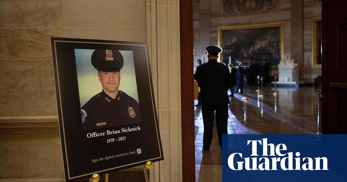 Capitol police officer injured in attack died of natural causes, examiner says