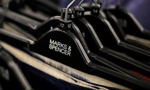 Marks & Spencer shop in London