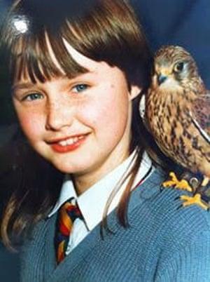 Cat Rodie as a schoolgirl