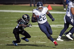 Derrick Henry had yet another 200-yard game on Sunday