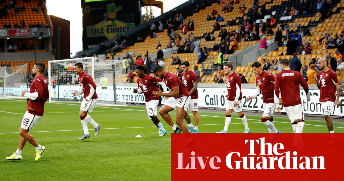 Wolves v Torino: Europa League qualifying play-off second leg – live!