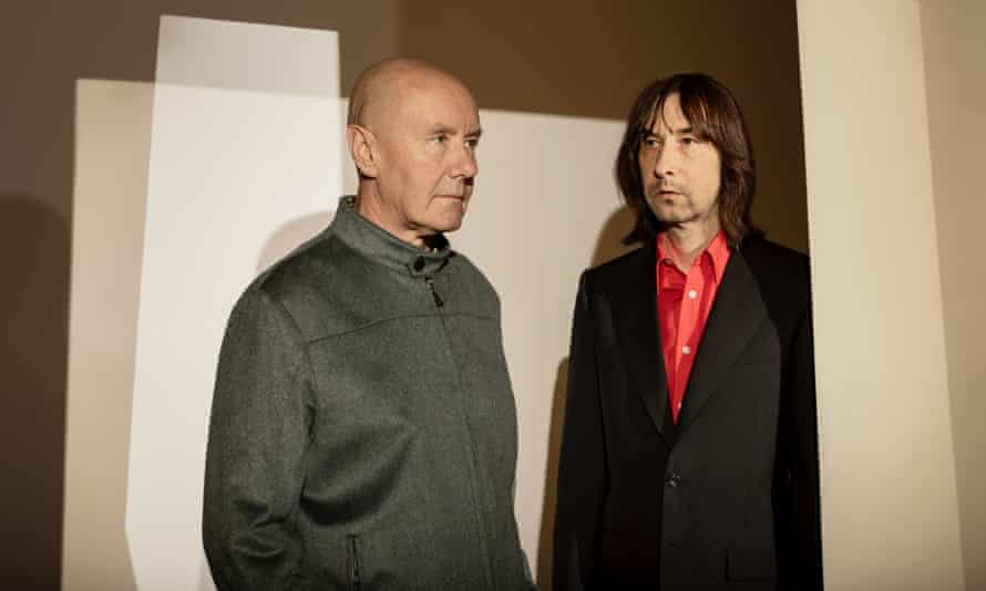 Irvine Welsh and Bobby Gillespie.
