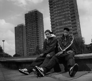Wiley and Dizzee Rascal in 2002.