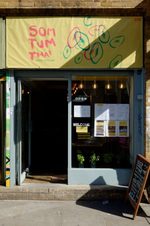 Som Tum Thai  The Thai 'street food' cafe has been open for just four weeks